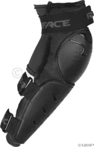 RaceFace Rally FR Arm Body Armor Race Face Rally FR Arm Armor, LG, Black/Blue