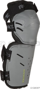RaceFace Zero Lightweight Body Armor Race Face Zero Lightweight Leg Armor, MD, Gray