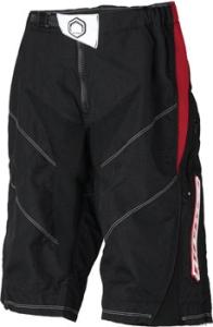 Nema Podium Protective Shorts Nema Podium Short Black/Red Md