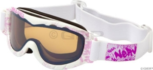 Optic Nerve Snowplow Protective Goggles Optic Nerve Snowplow Goggle Stencil Pink
