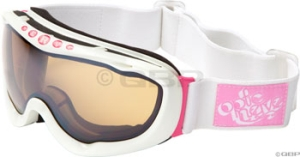 Optic Nerve Meadow Goggle Shiny White/Pink Optic Nerve Meadow Goggle Shiny White/Pink