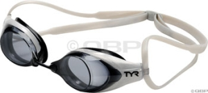 TYR Tracer Ti Swim Goggles TYR Tracer Ti Metallized Clear Mirror Icer