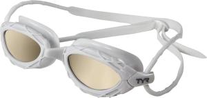 TYR Nest Pro Nano Swim Goggles TYR Nest Pro Nano Goggle White Metallic