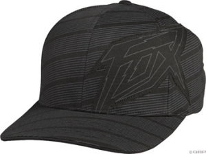 Fox Racing Helter Skelter Baseball Caps Fox Helter Skelter Flex Hat Black LXL