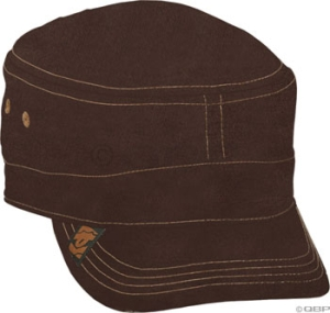 RaceFace Military Cap Baseball Caps RaceFace Military Cap Brown Corduroy, LG/XL