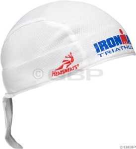 Headsweats CoolMax Shorty Headbands Headsweats CoolMax Shorty, Ironman White