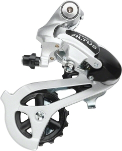 Shimano Altus Mountain Bike Rear Derailleur - Direct Mount - RDM310 (Black)