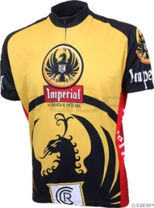 World Jerseys Imperial Beer Cycling Jersey - World Jerseys Imperial Beer Cycling Jersey: LG