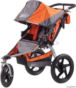BOB Single Revolution SE Stroller: Orange
