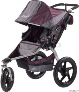 BOB Single Revolution SE Stroller: Plum