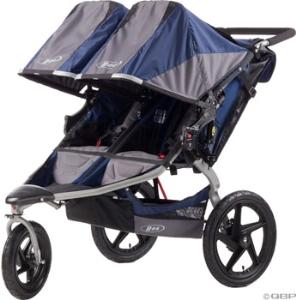 BOB Duallie Revolution SE Stroller: Navy