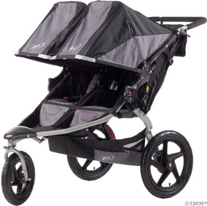 BOB Duallie Revolution SE Stroller: Black