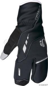 Pearl Izumi P.R.O. Softshell Lobster Glove: Black - 2XL