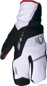 Pearl Izumi P.R.O. Softshell Lobster Glove: White - MD
