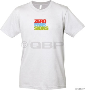 Civia Zero Emissions T-Shirt: Silver - LG