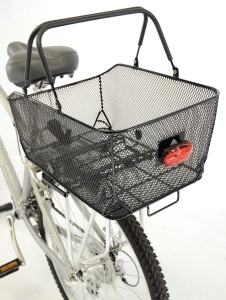 Axiom Market LX Rear Basket: Black Mesh