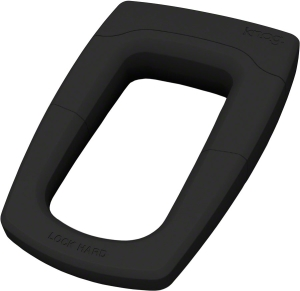 Knog Bouncer U-Lock with Bracket: Black