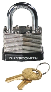 Kryptonite Laminated Steel Padlock with Flat Key