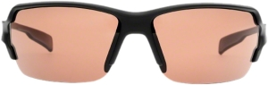 Native Blanca Sunglasses: Asphalt with Copper IC / Polarized Lens