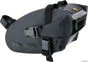 Topeak Wedge Dry Bag Strap-On Seat Bag: Black; SM