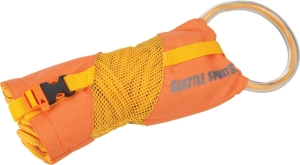 Seattle Sports Company Splitshot Throw Bag with 50-Foot Rope: Orange