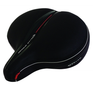Serfas Super Cruiser Reactive Gel Saddles - Lycra Saddle, CRS-1