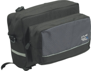 Axiom Atlas Handlebar Bag Black