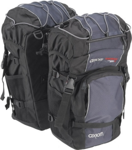 Axiom Kootenay Panniers Black
