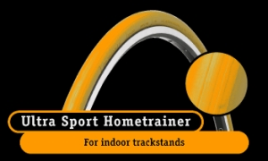 Continental Ultra Sport Hometrainer Orange 700 x 23
