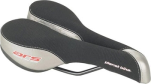 Planet Bike ARS Anatomic Saddle Womens Saddle 235mm x 155mm, 386 grams