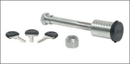 Allen 500L Stainless Steel Locking Hitch Pin Allen 500L Stainless Steel Locking Hitch Pin