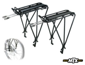 Topeak Explorer Tubular Rack With Disc Mounts With top spring clamp Topeak TA2037B