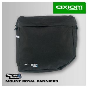 Buy Axiom Mount Royal Pannier - Black (Bags, Panniers, Axiom)