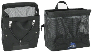 Jandd Grocery Bag Pannier Blue / Black. Sold Each.
