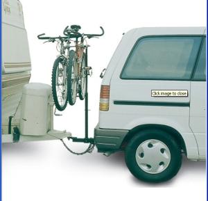 Hollywood Racks Tow 'n Go Hitch Rack 3 Bike 3 bike, for 2 hitches