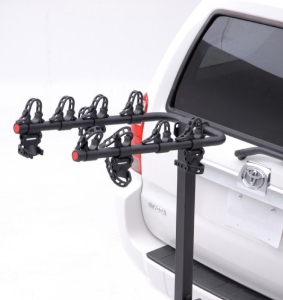 Hollywood Racks Road Runner Hitch Rack 4 bike for 1 1/4 hitches