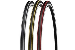 Michelin Krylion Carbon Tires Black/Red 700 x 23