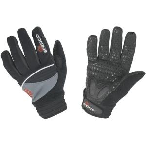 Spenco Cold Snap Gloves Medium Black/Gray
