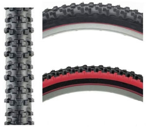Panaracer Fire XC Pro 26 x 2.1 Tires Kevlar Bead Black/Red/Black