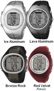 Polar F55 Heart Rate Monitor Ice Aluminum