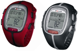 Polar RS200 Heart Rate Monitor Red