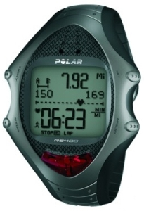 Polar RS400 Heart Rate Monitor Black