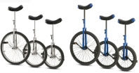 "Torker CX Unicycle 16"" Chrome"