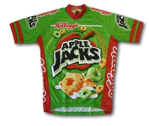 Buy World Jerseys Apple Jacks Jersey - X-Large (Cycling Clothing, Jerseys, World Jerseys)