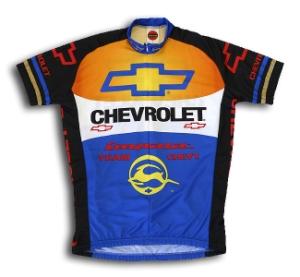 Buy World Jerseys Chevrolet Team Jersey - Medium (Cycling Clothing, Jerseys, World Jerseys)