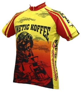 Buy World Jerseys Kinetic Koffee Jersey - X-Large (Cycling Clothing, Jerseys, World Jerseys)