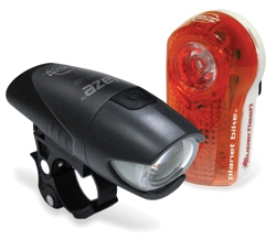 Planet Bike Blaze & Superflash Light Set Blaze & Superflash Light Set
