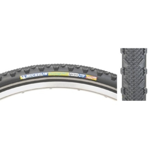Michelin Transworld Sprint Tire Black with Reflective Sidewall 700 x 35