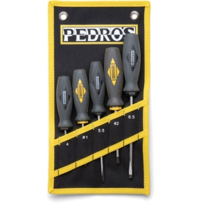 Pedros 5 Piece Screwdriver Set Pedros 5 Piece Screwdriver Set