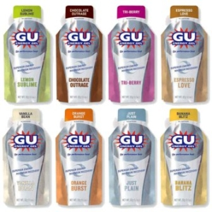 Gu Energy Gel 24 Pack, Vanilla Bean